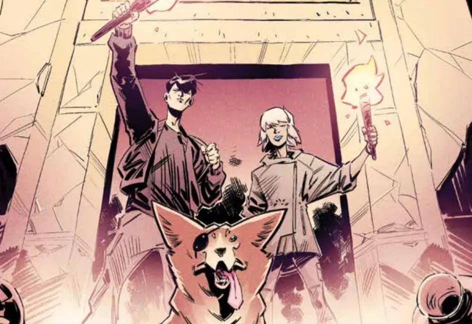 Beyonders #1 Advance Review: Escape the Mundane