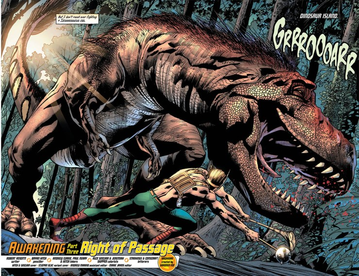 Hawkman #3 Review: Dino-soaring above the rest