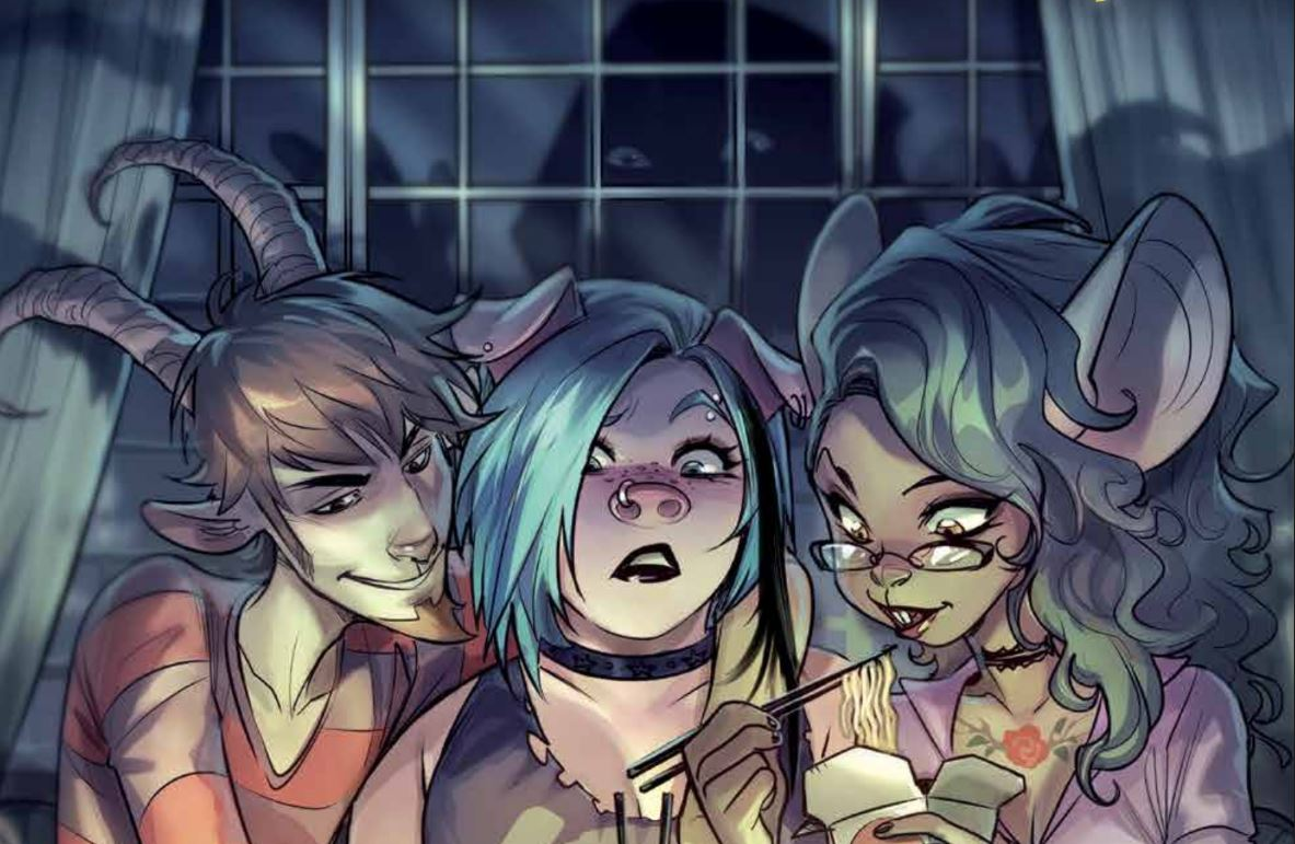 Unnatural #2 Review: Looking for love in all the wrong places?