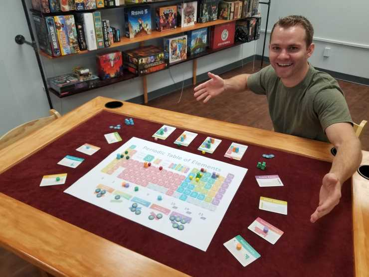 Kickstarter Alert -- John Coveyou brings 'Periodic:  A Game of the Elements' to the table