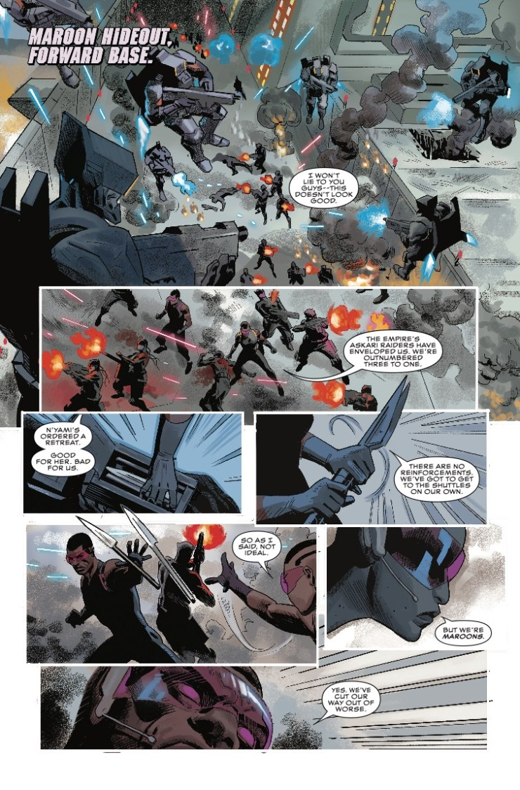 Marvel Preview: Black Panther #4