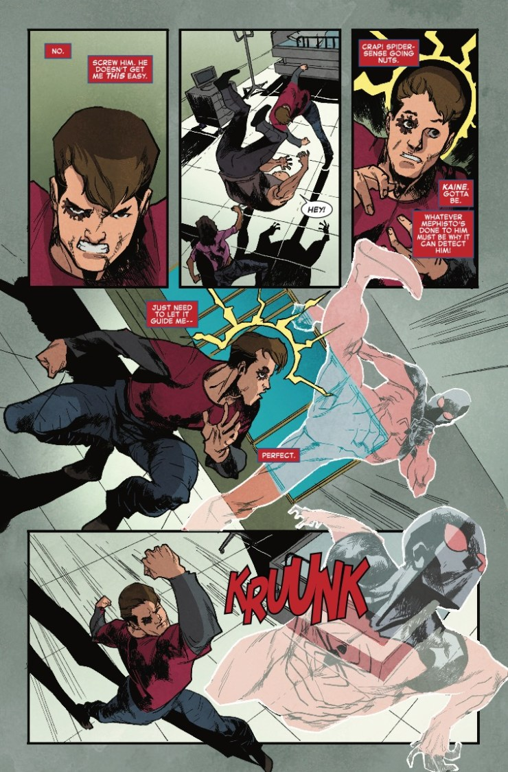 Marvel Preview: Ben Reilly: Scarlet Spider #24 - Can Ben Reilly save his soul?