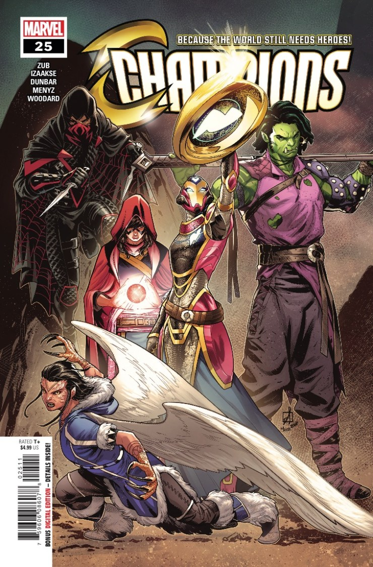 Marvel Preview: Champions #25