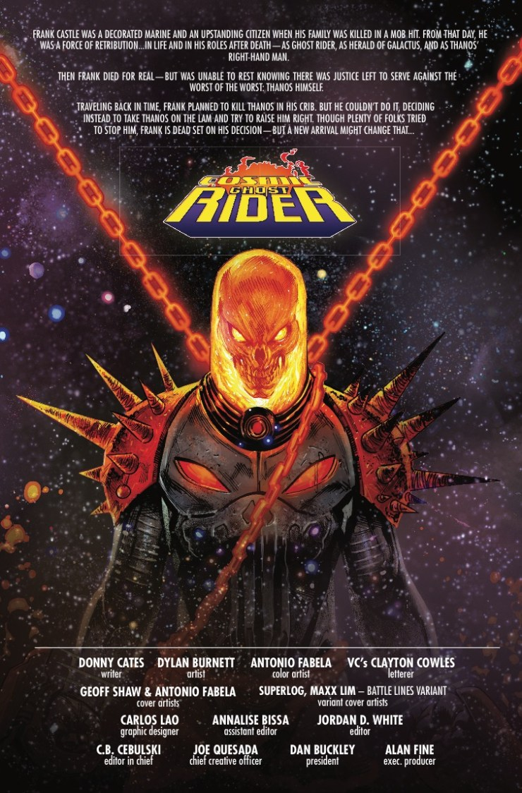 Marvel Preview: Cosmic Ghost Rider #4