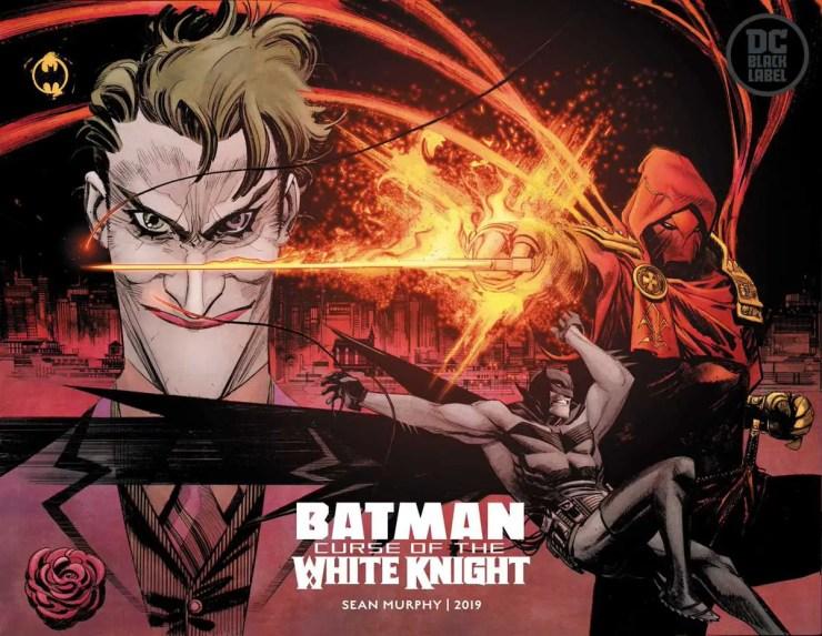 Sean Gordon Murphy's 'Batman: Curse of the White Knight' announced