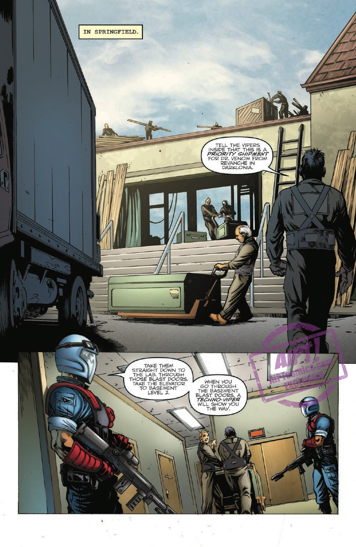 [EXCLUSIVE] IDW Preview: G.I. Joe: A Real American Hero #256