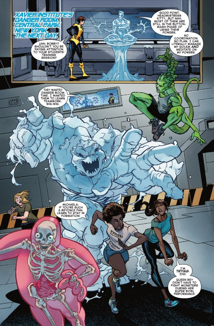 Marvel Preview: Iceman #1 (2018)