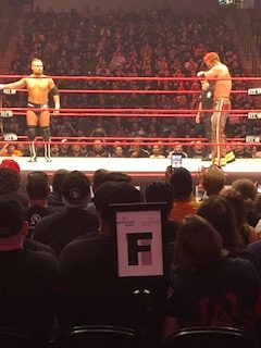Pictures from All In including Rey Mysterio as Wolverine and Jericho's surprise appearance!