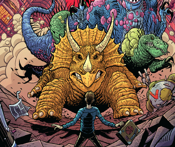 Leviathan # 2 Review: Demons, dinosaurs, nuclear waste, and true love
