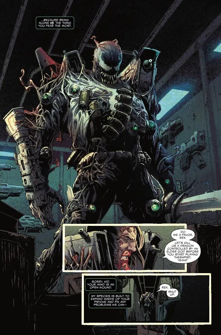 Venom # 6 review: Venom vs. a Symbiote dragon