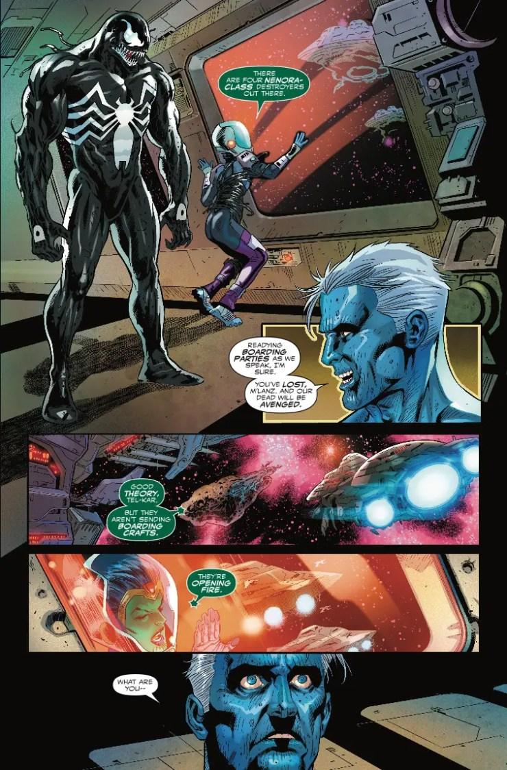 Venom: First Host #5 Review