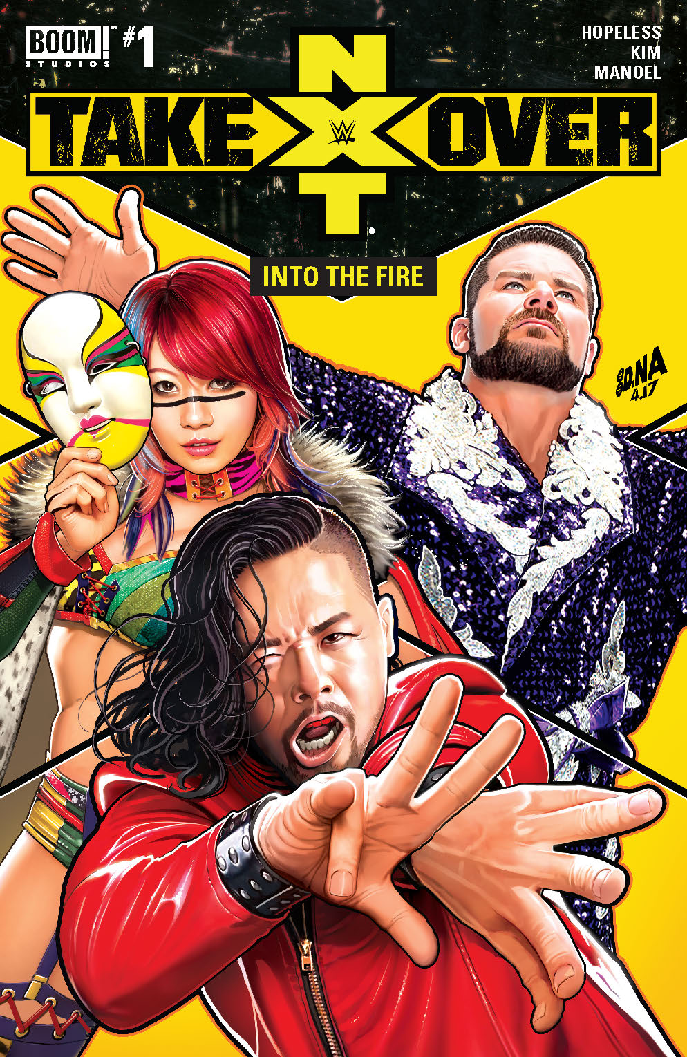 'WWE NXT Takeover #1: Into the Fire' review: Stoking the flames of the Women's Evolution