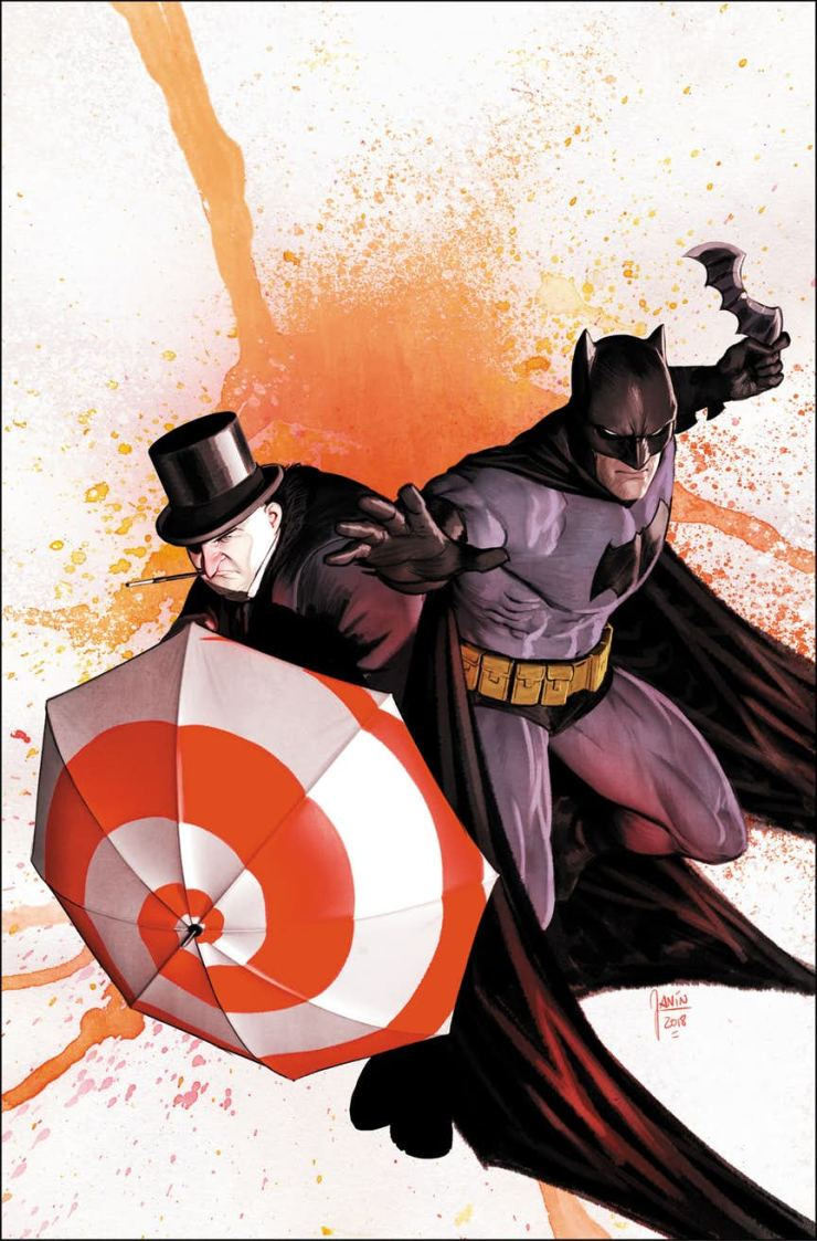 It's the return of the Dynamic Duo this December in Batman #60: Batman and... the Penguin?!