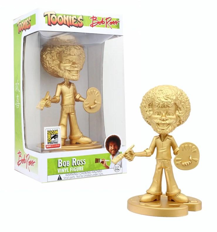 Toynk's Toonies Bob Ross vinyl figure
