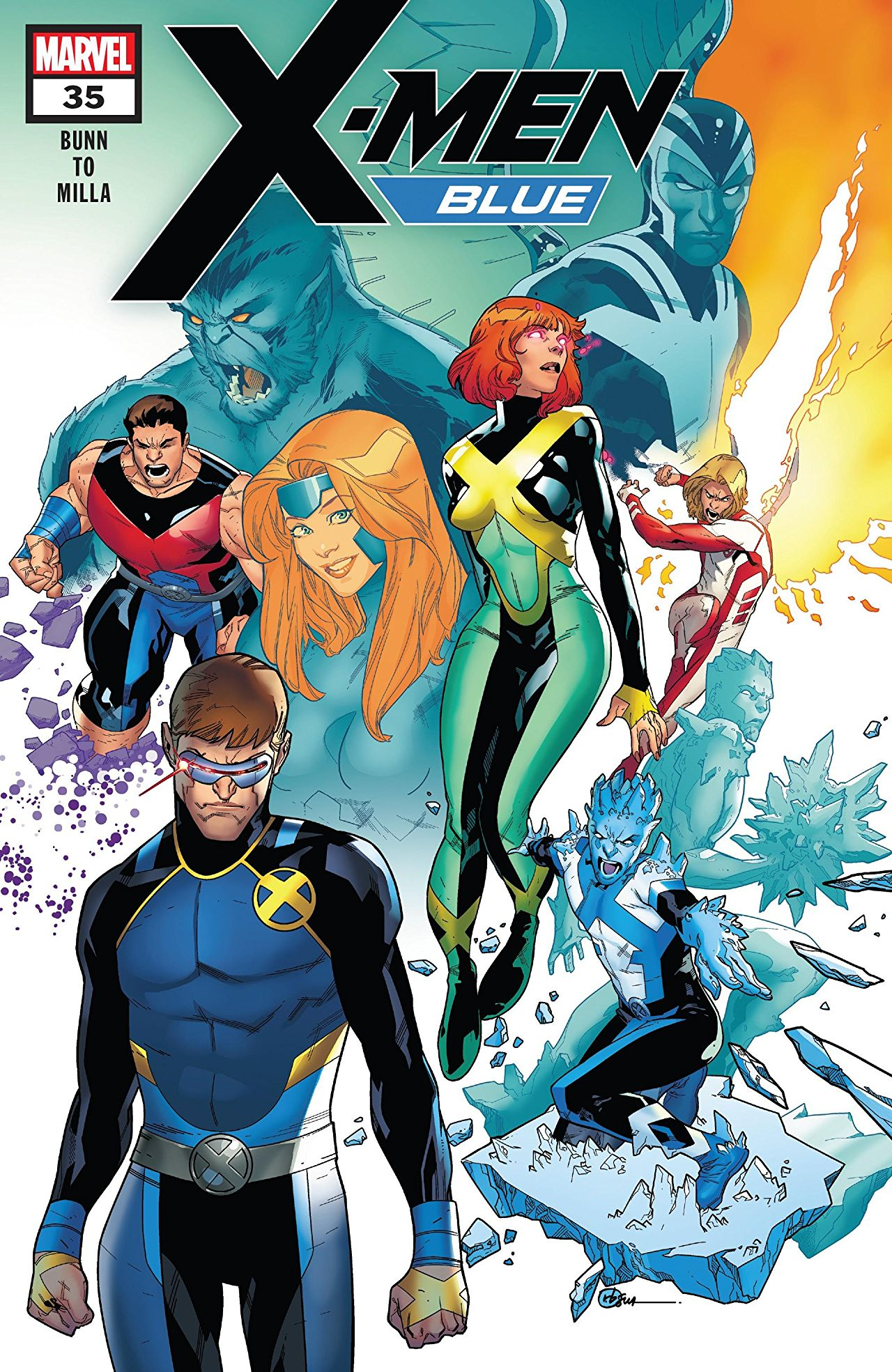 X-Men Blue #35 review