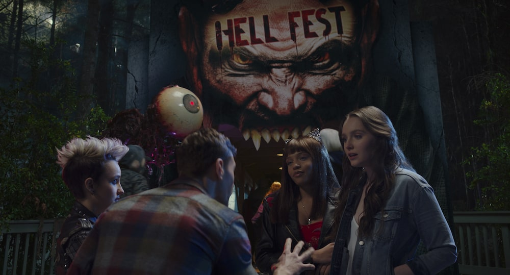 Hell Fest Review: Decent idea marred by horrible writing