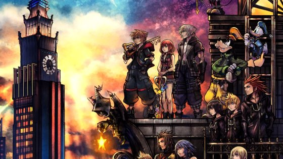 This official box art for Kingdom Hearts III has us at a loss for words.