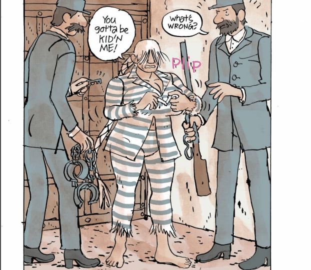 'Perdy' Vol. 1 review: Not your grandpa's cowboy and western comic