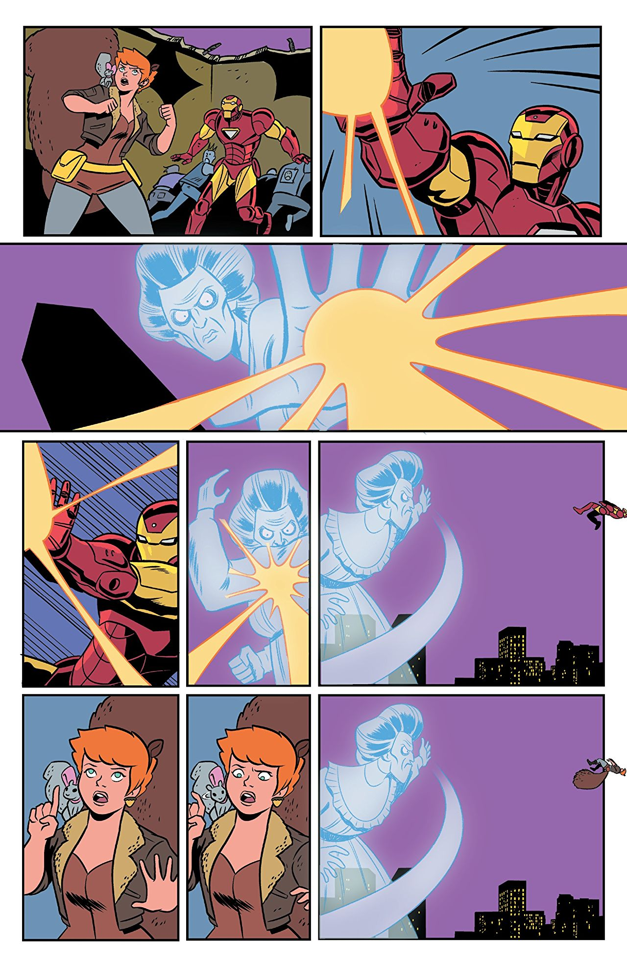 The Unbeatable Squirrel Girl #36 review: Silence is Golden