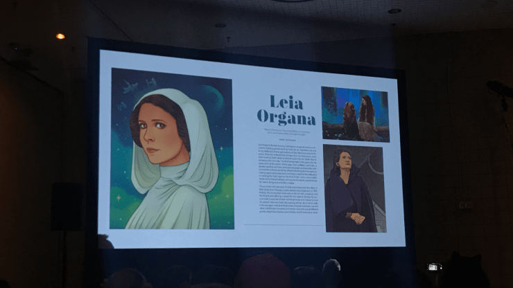 NYCC 2018: Star Wars: Women of the Galaxy celebrates the leading ladies of the galaxy far, far away
