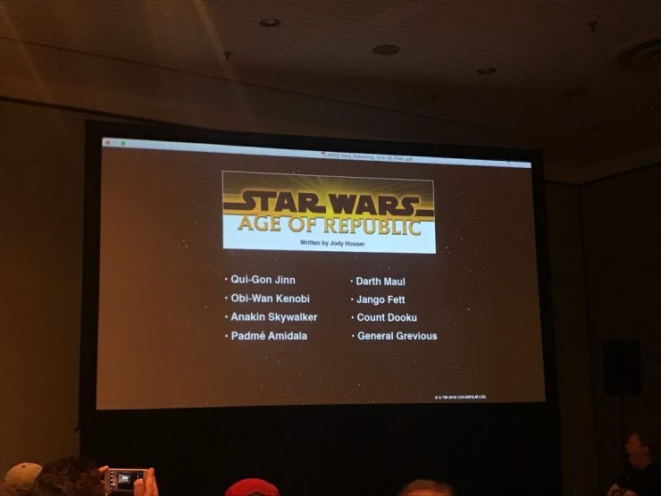"""""""Age of Star Wars"""" is almost here, and Disney-Lucasfilm Publishing has revealed the writers and titles for each era."""
