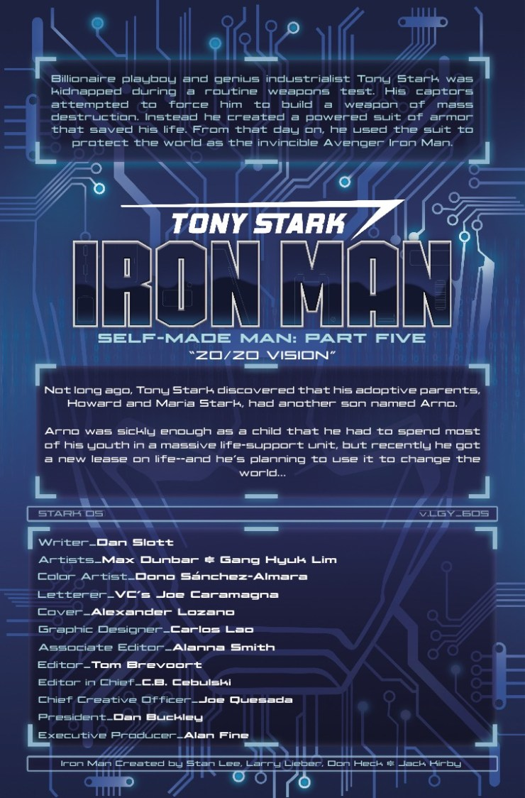 Marvel Preview: Tony Stark: Iron Man #5
