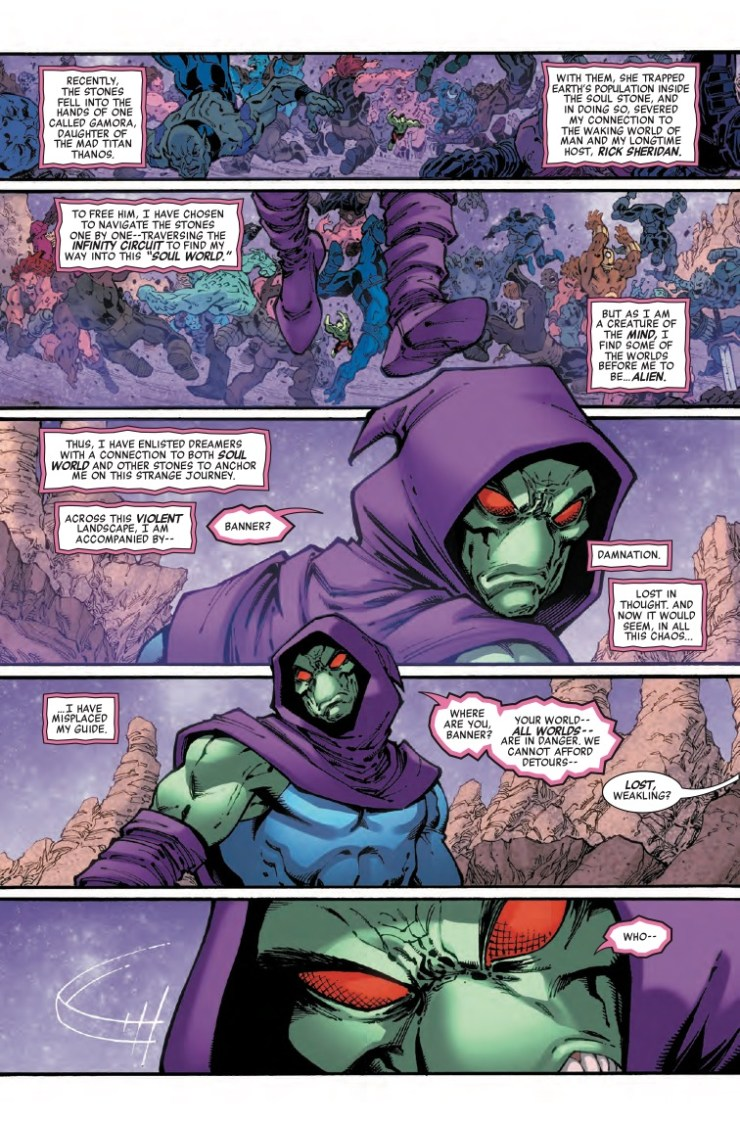Marvel Preview: Infinity Wars: Sleepwalker #2
