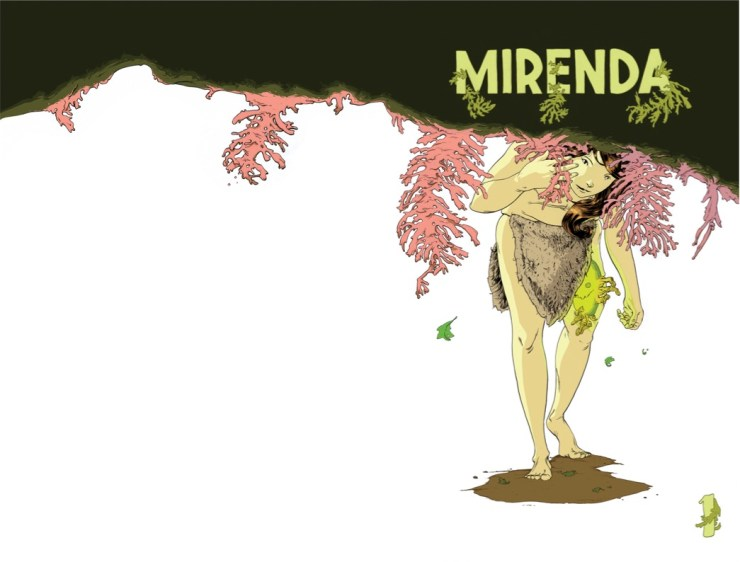 """""""A comic about a jungle woman who gets a demon stuck in her leg"""": An interview with 'Mirenda' artist Grim Wilkins"""