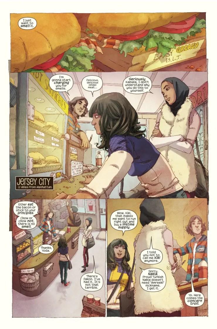 Marvel Preview: Halloween Comicsfest: Ms. Marvel #1