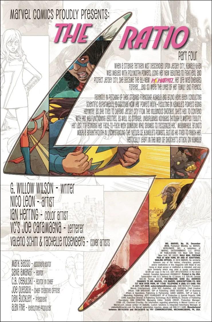 Marvel Preview: Ms. Marvel #35