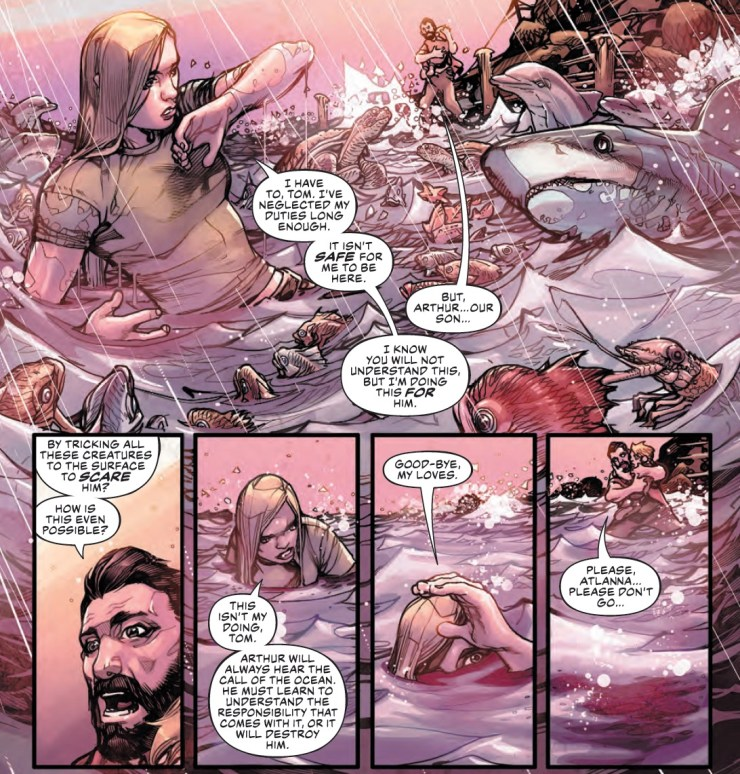 Justice League/Aquaman: Drowned Earth Special #1 Review