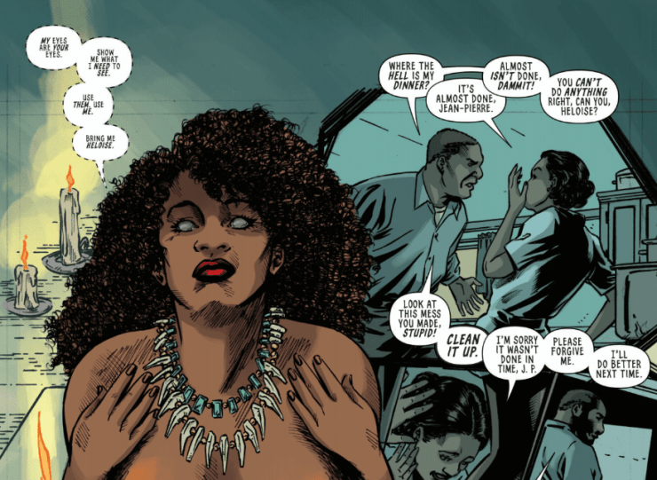 Writer Tee Franklin talks horror comic series 'Jook Joint,' trigger warnings, and more