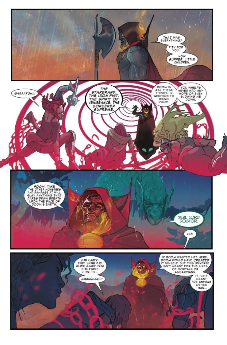 Marvel Preview: Thor #6 - The return of Doctor Doom!