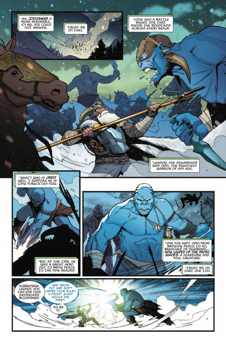 Marvel Preview: What If? Thor (2018) #1