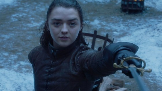 """I ended on the perfect scene,"" Arya Stark actress Maisie Williams says of her final moments in Game of Thrones"