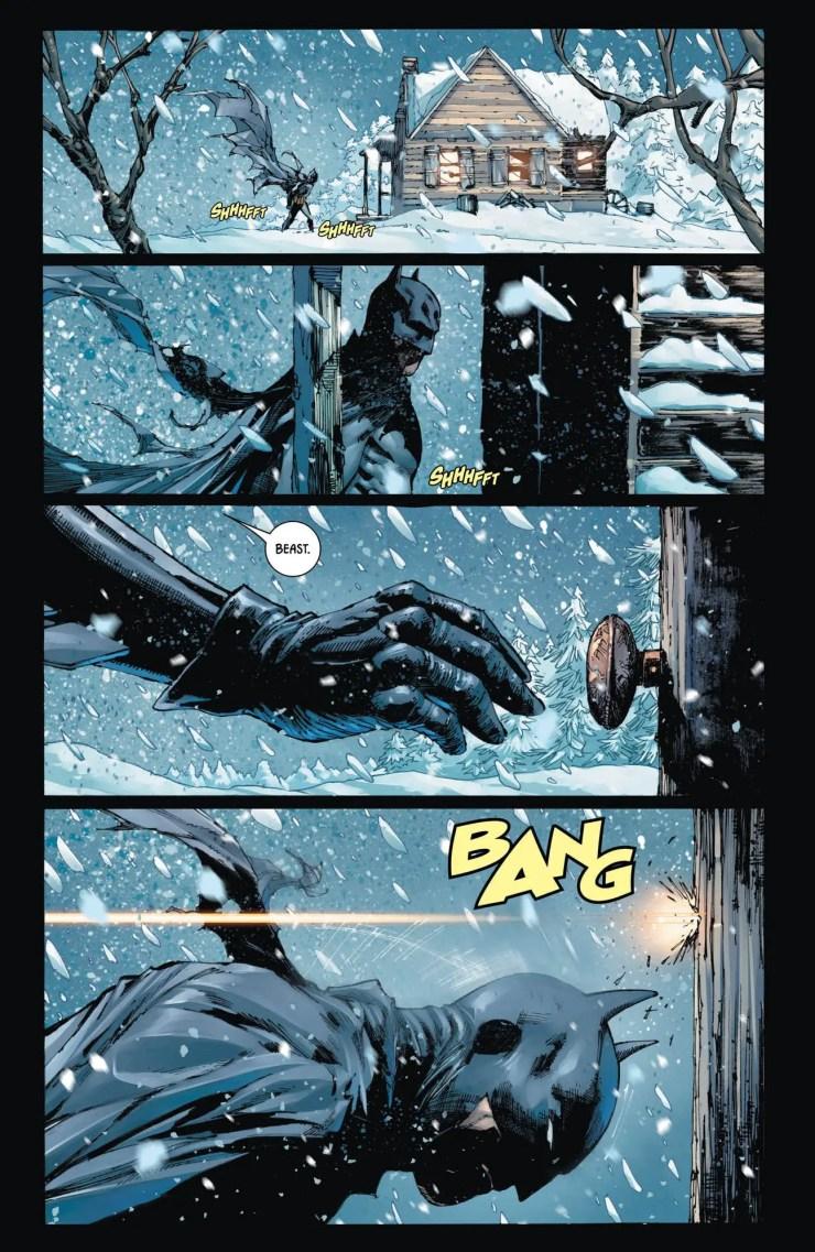 Batman #57 review: Batman vs. The Beast