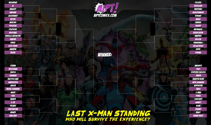 The 'Last X-Man Standing' Tournament: Round 1 - First Blood [VOTE]