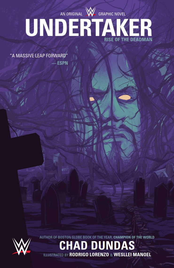 New Look: WWE: Undertaker original graphic novel