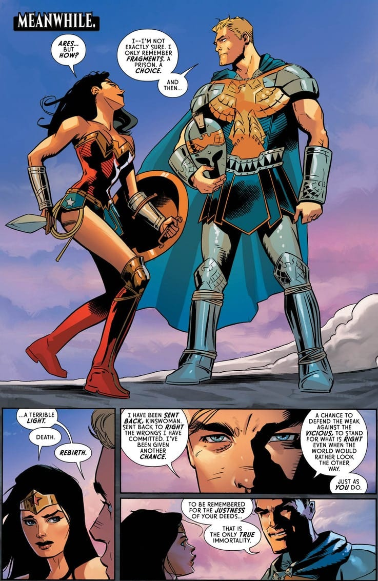 Wonder Woman #59 Review: The Brave and the Just