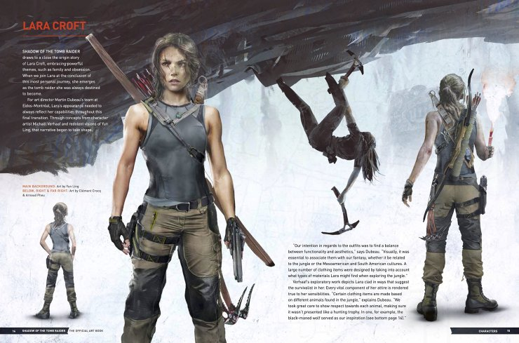 Shadow of the Tomb Raider - The Official Art Book and tie in novel - review