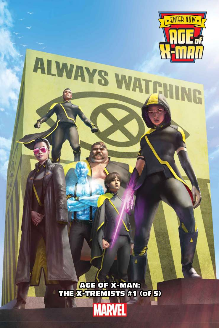 Marvel enters a new age, the Age of X-Man!