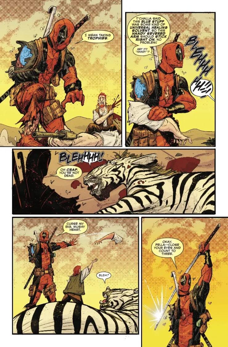 Marvel Preview: Black Panther vs. Deadpool #2