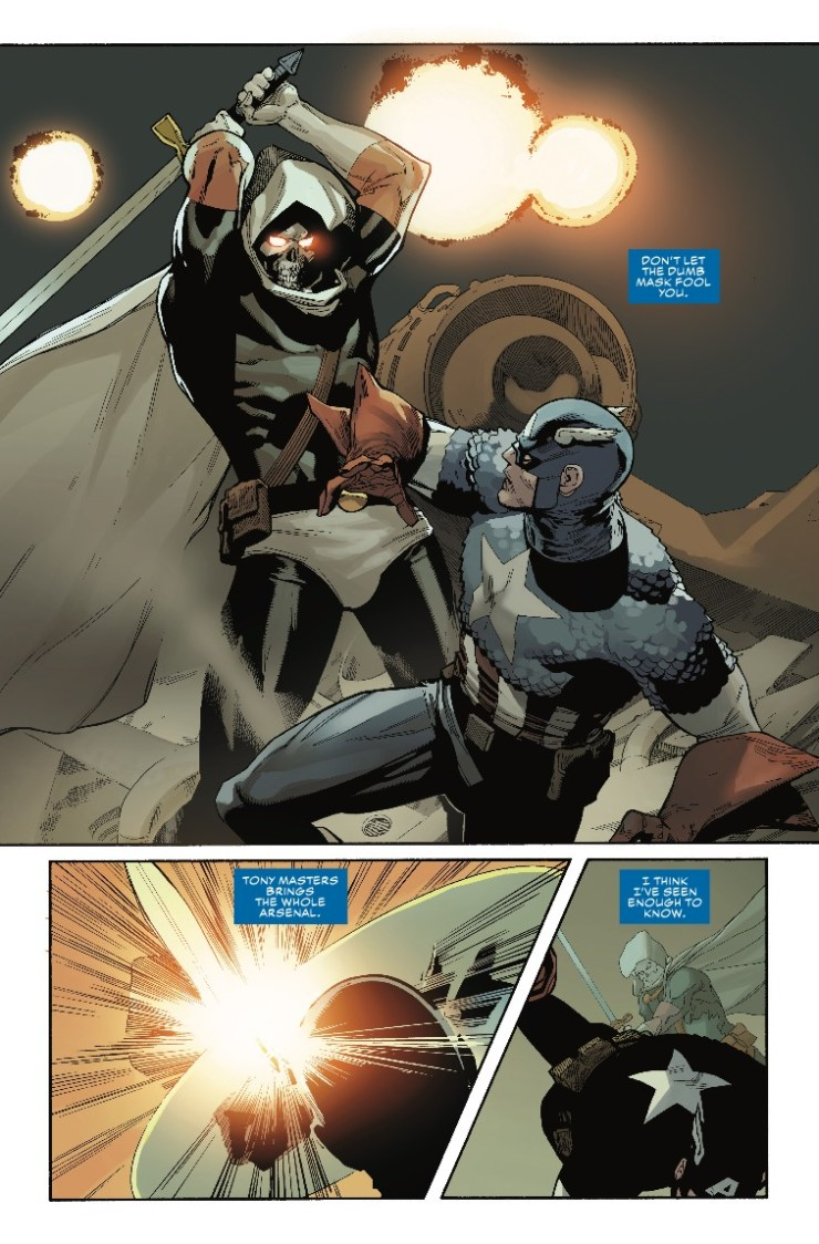 Marvel Preview: Captain America #5