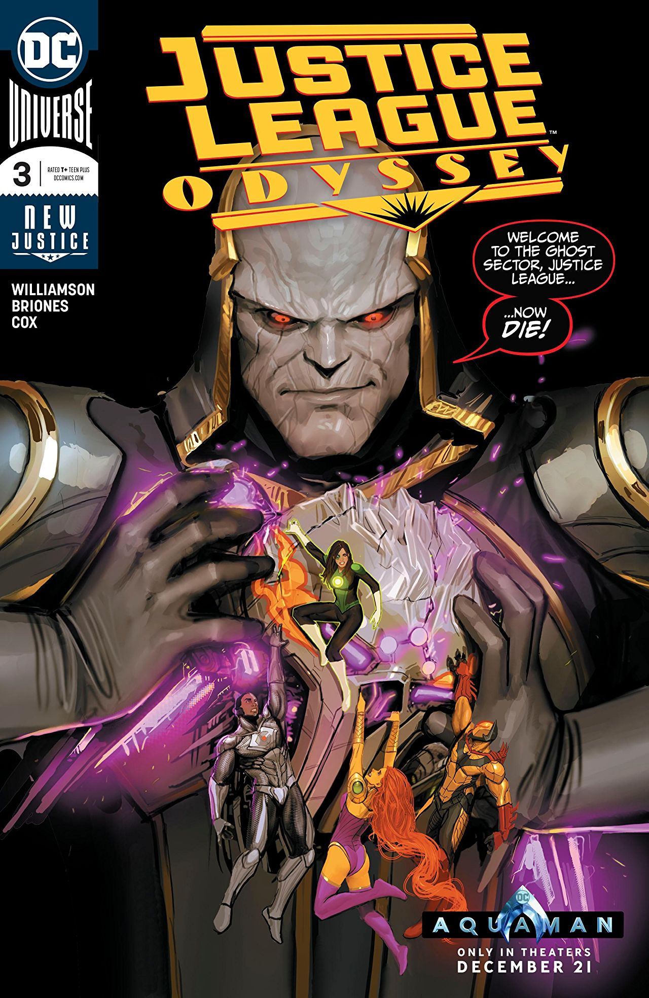 Justice League Odyssey #3 Review