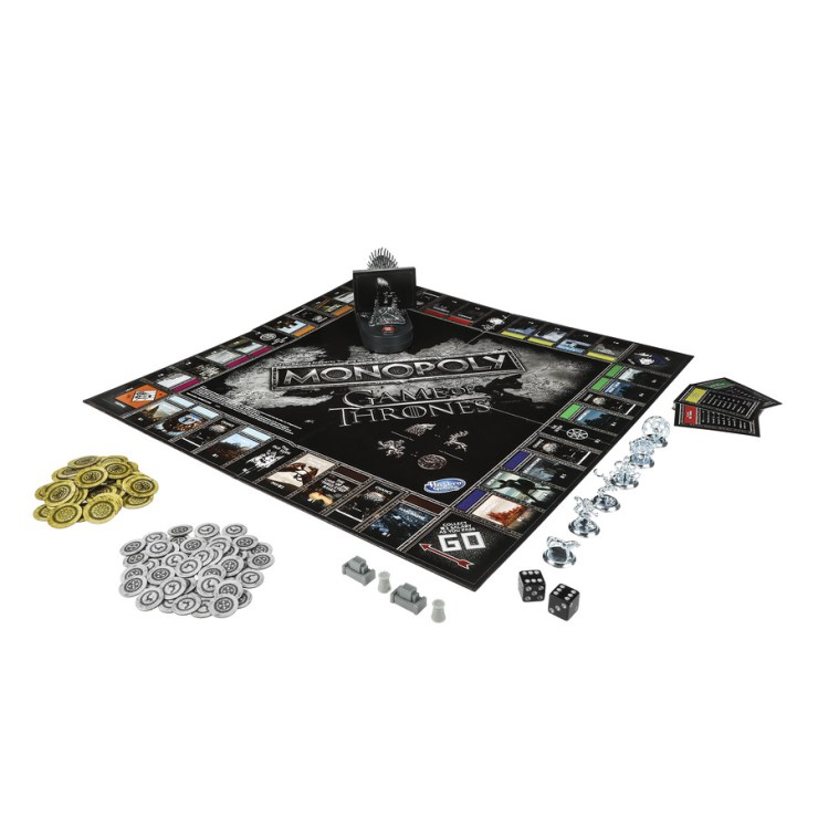 Hasbro and HBO introduce a new Game of Thrones edition of Monopoly
