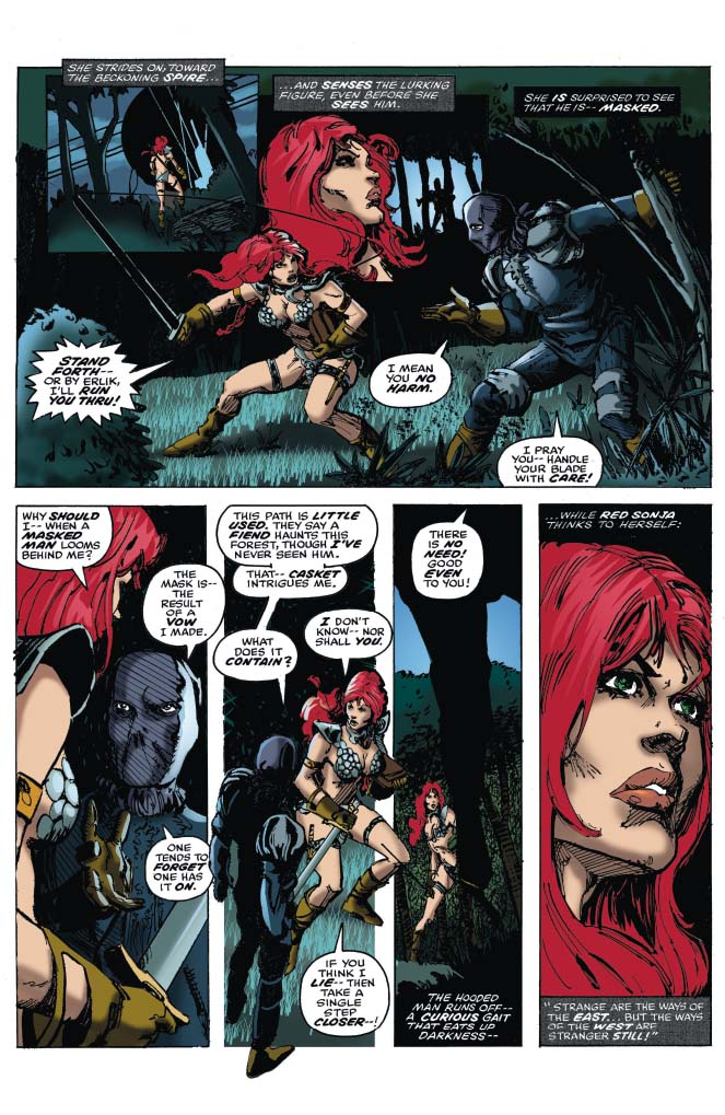 The Further Adventures of Red Sonja Vol. 1 TPB Review