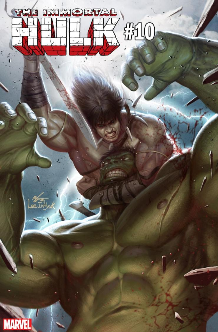 Conan the Barbarian invades Marvel variant covers this January