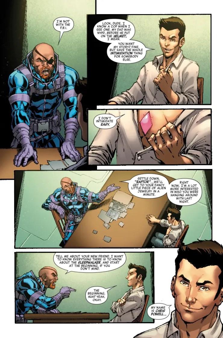 Marvel Preview: Infinity Wars: Sleepwalker #3