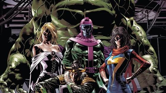 Introducing... Loki's Cosmic Avengers!