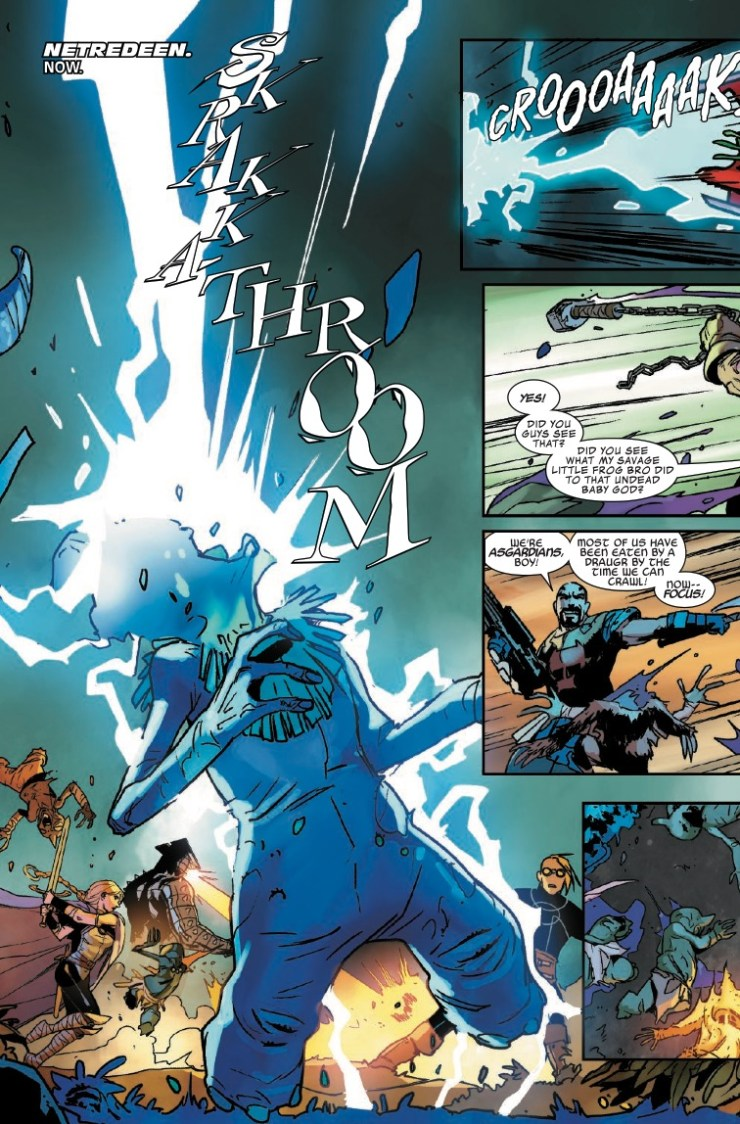 Marvel Preview: Asgardians of the Galaxy #3